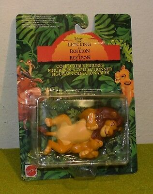 Mattel Carded Disney The Lion King Collectible Figure Mufasa And Young Cub