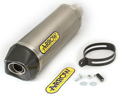 71776Pkk - Silencer Exhaust Arrow Race-Tech Titan Carb.cap Suzuki Gsr 750 '11>