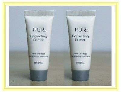 2 x PUR Correcting PRIMER Prep & Perfect ~ Neutralize DARK Circles ~ AGE Spots