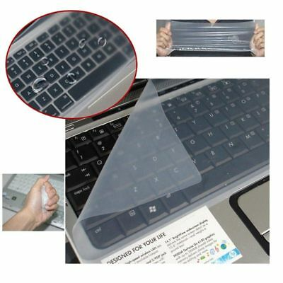 White Transparent Protective Film Keyboard Cover For Laptop PC Notebook