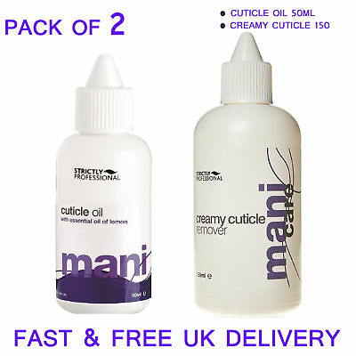 New Professional Cuticle Oil Creamy Cuticle Remover Kit Duo Pack (50ml/150ml)