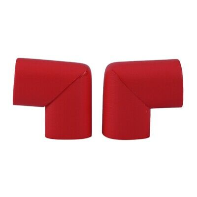 Table Top Corner Mat Cover Safety Protector Cover Cushion Red 2 Pieces R7J3