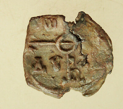 Ancient Byzantine  Lead Seal   D=27mm  11g