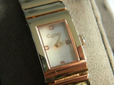 Clogau Rose Gold Plated Stainless Steel Diamond Ladies Wrist Watch RRP £520.00