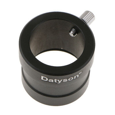 "Metal 1.25"" to 0.965"" Telescope Eyepiece Adapter (31.7mm to 24.5mm) Black"