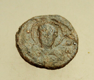 Ancient Byzantine Lead Seal D=21mm 6,5g