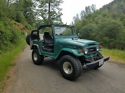 1974 Toyota Land Cruiser FJ40 1974 TOYOTA FJ40 LANDCRUISER*ROCK SOLID 2-OWNER CALIFORNIA TRUCK W/45K MILES
