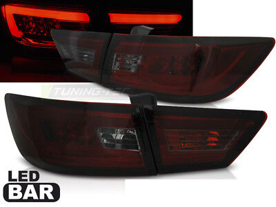 Pilotos Traseros Renault Clio IV 2013- LED Rojo Humo LTI Light Tube inside ES LD