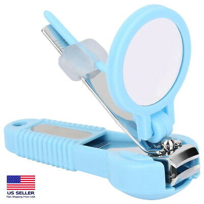Magnifier Nail Clipper Finger Toe Nail Trimmer With Magnifying Glass Safe Child