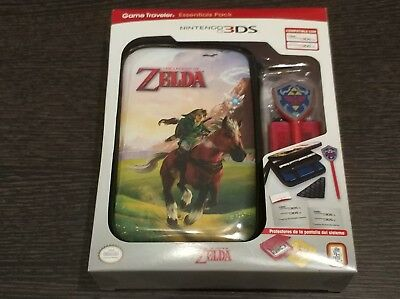 Zelda Ocarina of Time 3ds Game Traveler Funda Kit accesorios Nintendo
