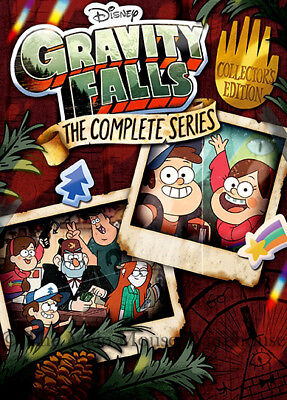 Gravity Falls The Complete Series DVD Disney Channel Twins Supernatural Comedy