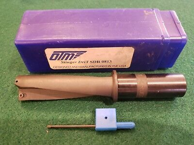 MANCHESTER OTM Indexable Holeshot Drill SDR-0813 MADE IN USA!