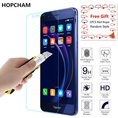 2X Tempered Glass Film Screen Protector For Huawei P8/P9/P10Plus/Lite Honor 8 9