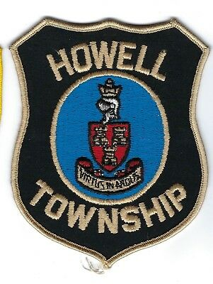 Howell Twp. (Livingston County) MI Michigan Police patch - NEW!