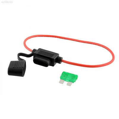 864A Car Boat In-line Middle Blade Fuse Holder Pre Failure Warning 24V 20A