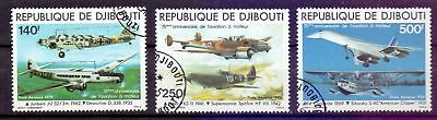 Djibouti  1979  75th Ann. Of Powered Flight, used.