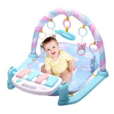 Baby Play Mat Gym Toys 0-12 Months Soft Lighting Musical Activity Floor Playmat