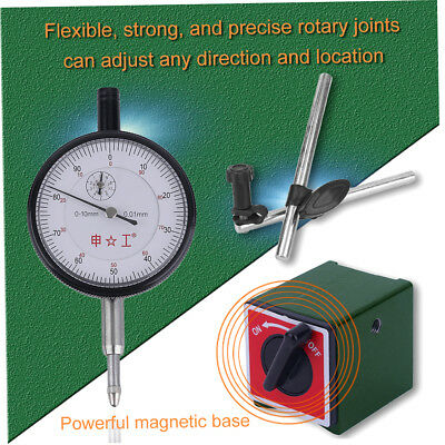 CZ-6A Professional Magnetic Base Holder Stand With 0,01mm Accuracy Dial Gauge V0