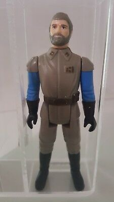 Star Wars Vintage MOC Figure Kenner General Madine POTF AFA UKG 85%