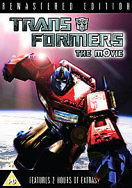 Transformers - The Movie (DVD, 2007) D0331 NEW