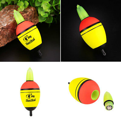 A171 Night Light Fishing Float Floating Scuba Drinks 2 Button Fishing Green
