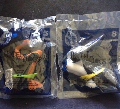 Henry Hotel Dogs Happy Meal Toy 5 New In Package Sealed Mcdonald S