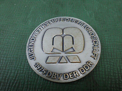 Boxmedaille Medaille Boxsport Boxing DDR-Sport Boxen