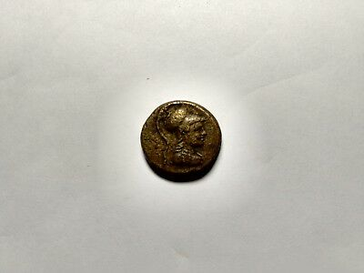 APAMEIA PHRYGIA 88BC Athena Gemini Caps Eagle Original Ancient Greek Coin