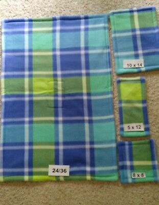 PET Guinea Pig Cage Liner Midwest 24/36  4pc Kits! 3 Layers of Fleece & Uhual