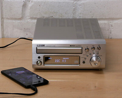 DENON UD-M31 COMPACT Audio Hi-Fi Shelf System AUX input FM AM radio CD  player