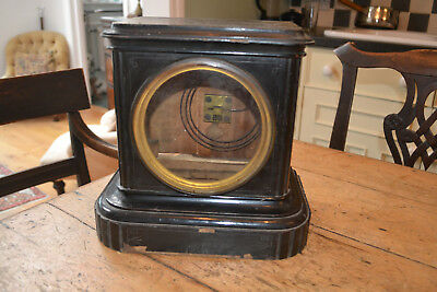 19c bracket clock case for restoration