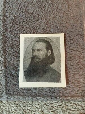 1910's Colgan Gum Confederate Portrait Card - A R Wright #97