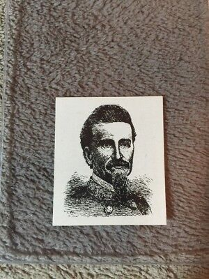 1910's Colgan Gum Confederate Portrait Card - Dabney Maury Virginia #75