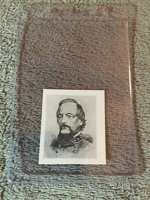 1910's Colgan Gum Confederate Portrait Card - Edward Johnson Virginia #65