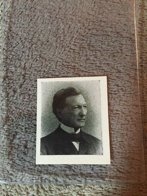 1910's Colgan Gum Confederate Portrait Card - Clement Evans Georgia #111