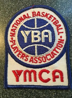 YMCA National Basketball Players Association Patch - vintage