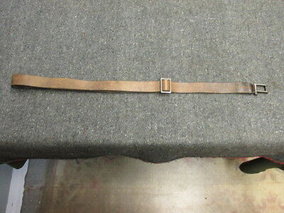 Pre Wwii German Gew 98 Mauser Rifle Sling-Guaranteed Original-Vg Cond-Waffenamt