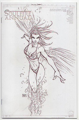 SOULFIRE ANNUAL #1 Artist Edition Limited Edition of 100 NM Aspen Michael Turner