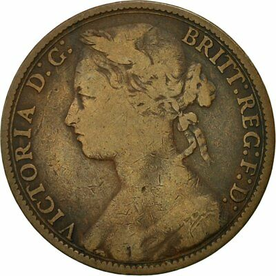 [#544140] Coin, Great Britain, Victoria, Penny, 1879, VF(20-25), Bronze, KM:755