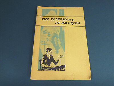 Vintage The Telephone In America 1939 ME03