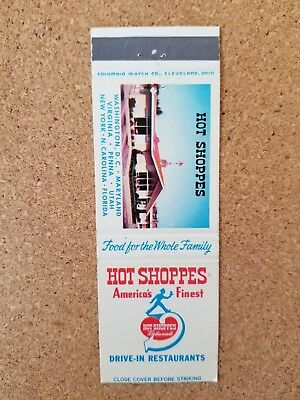 Hot Shoppes America's Finest Drive-In Restaurants Picture.