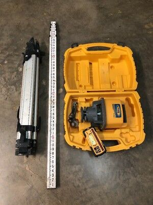 Trimble Spectra Precision LL500 Rotary Laser Level w/ Apache Receiver and Tripod
