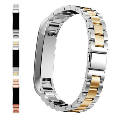 Luxury Stainless Steel Wrist Band Watchband Bracelet Strap For Fitbit Alta CA