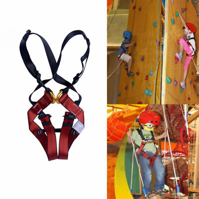 Professional Kids Rock Climbing Fall Protection Full Body Harness Safety Belt