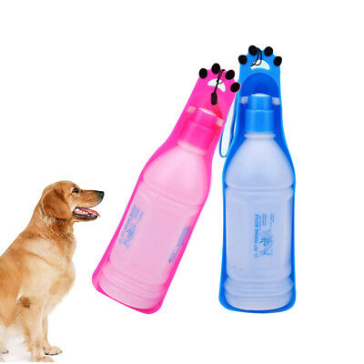 Portable Pet Water Bowl Bottle Dispenser Feeder Dog Cat Drinking Tool Outdoor