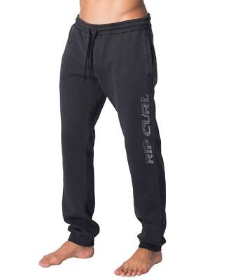 Rip curl Diamond Mens Fleece Track Pants Trousers Sport Casual Tracksuit S-XXL