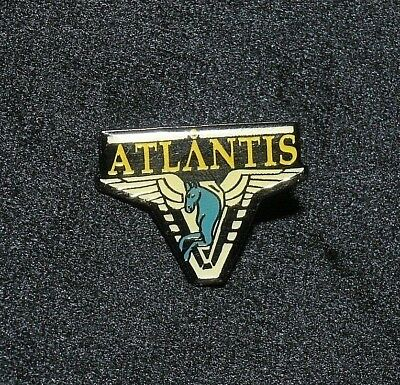 Stargate Atlantis Pegasus Shoulder Logo Enamel Metal Pin