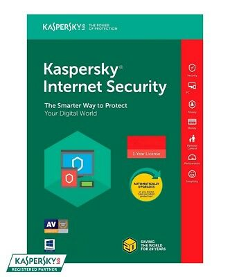 Kaspersky Internet Security 2019 - 1 PC / 1-Year - CD - Region: Americas