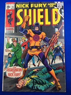 Nick Fury, Agent of SHIELD #15 (Nov 1969, Marvel)