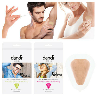 dandi® patch Deodorant / Antiperspirant Alternative Anti-Sweat Patches